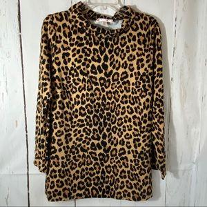 Jude Connally Large Leopard Shirt